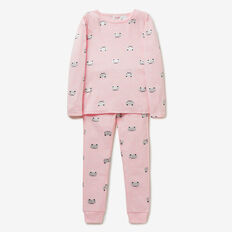 Kitty Mask PJ  ICE PINK MARLE  hi-res