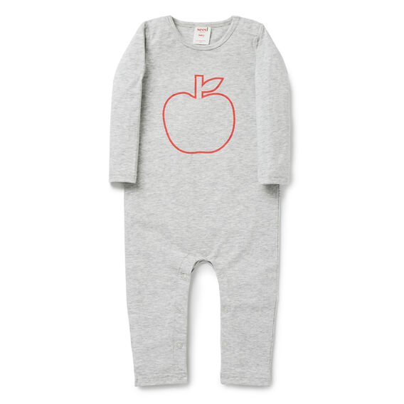 Apple Jumpsuit  FOG GREY MARLE  hi-res