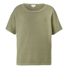 Linear Sweater  HERITAGE GREEN  hi-res