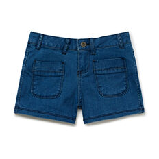 Denim Mini-Shorts  SEASIDE INDIGO  hi-res