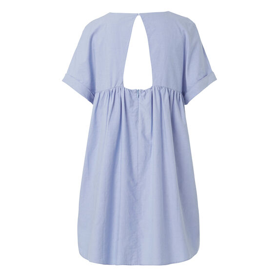 Shirting Dress  SOFT BLUE CHAMBRAY  hi-res