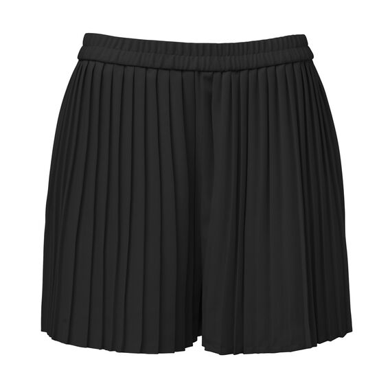 Pleat Short  BLACK  hi-res