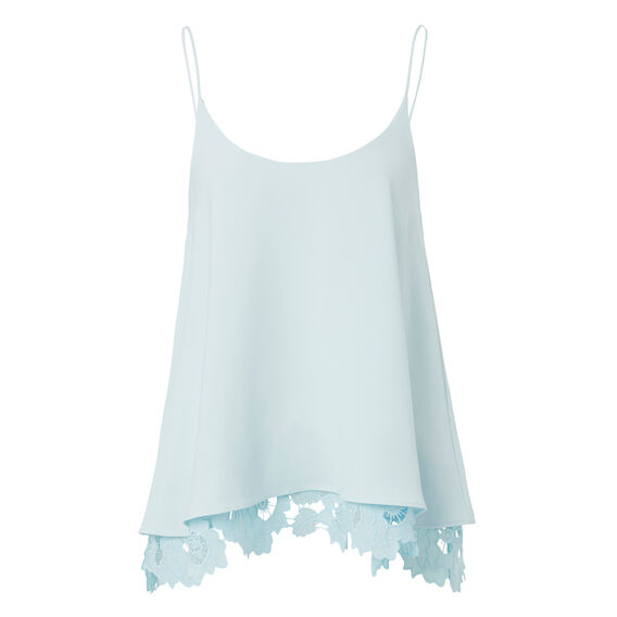 Layered Lace Cami  ICE BLUE  hi-res