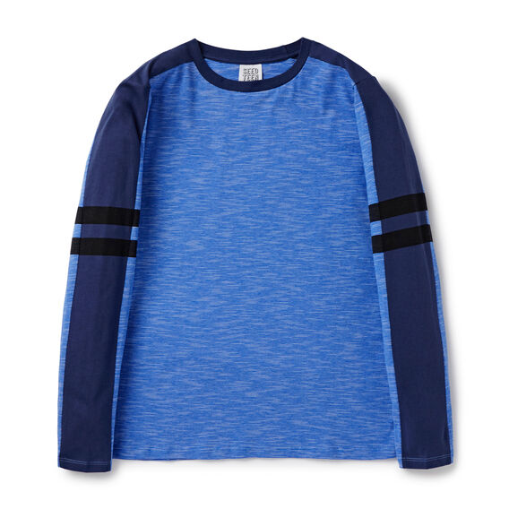 Spliced Tee  BRIGHT COBALT  hi-res