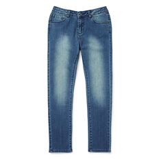 Slim Fit Jean  MID BLUE WASH  hi-res