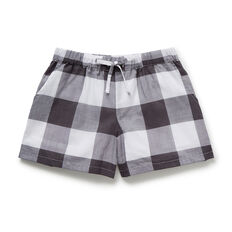 Gingham Shorts  CEMENT GREY  hi-res