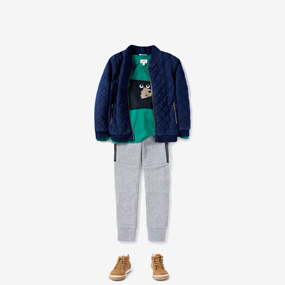 Zip Panel Trackie  PATCHY MARLE  hi-res