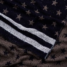 Stars and Stripes Scarf  NAVY  hi-res