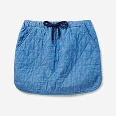Quilted Skirt  BLUEBELL INDIGO  hi-res