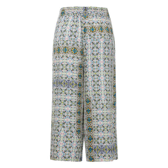 Resort Printed Culotte  MULTI  hi-res