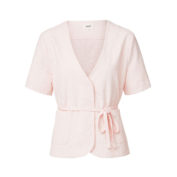 Collection Wrap Tie Jacket  BALLET PINK  hi-res