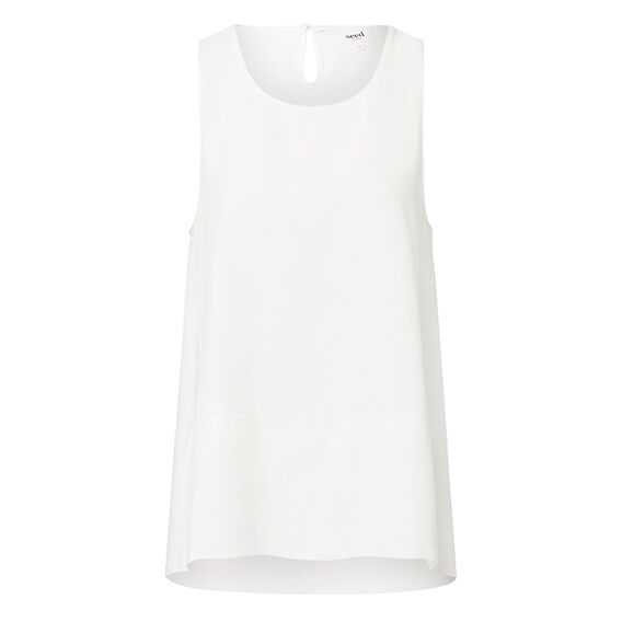 Sleeveless Top  CREAM  hi-res