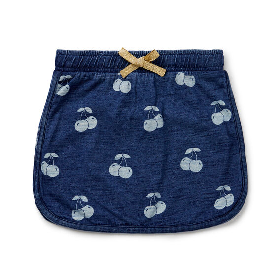 Cherry Skirt  DARK INDIGO  hi-res