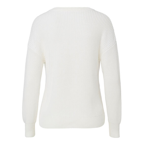 Shaker Sweater  CREAM  hi-res