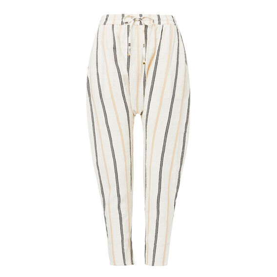Textured Harem Pant  STRIPE  hi-res