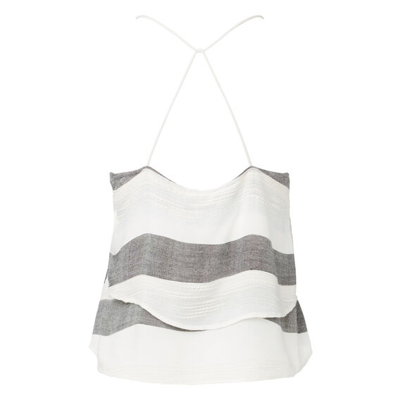 Strappy Cropped Tank Top  MULTI  hi-res