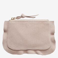 Frill Coin Purse  BLUSH  hi-res