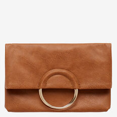 Sara Ring Clutch  TAN  hi-res