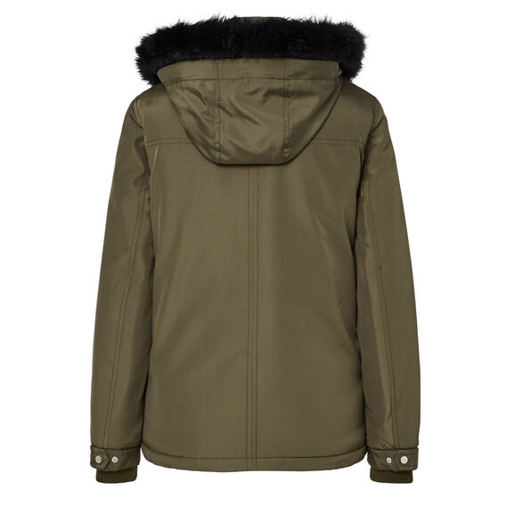 Zip Detail Anorak  DARK OLIVE  hi-res