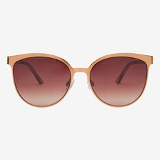 Bronze Metal Sunglasses  BRONZE  hi-res