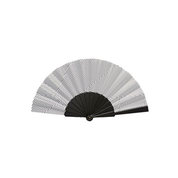 PRINTED FAN  STRIPE  hi-res