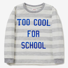 Too Cool Tee  BIRCH MARLE  hi-res
