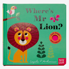 Where's Mr Lion Book  MULTI  hi-res