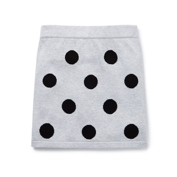 Spot Knit Skirt  CLOUD  hi-res