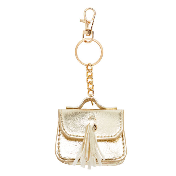 Mini Handbag Bag Charm  GOLD  hi-res