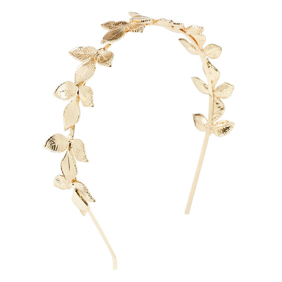 Leaf Headband  GOLD  hi-res