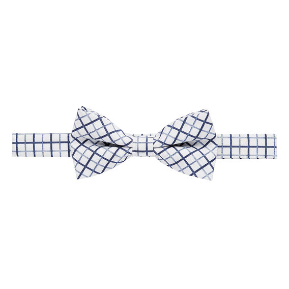 Blue Grid Bow Tie  MULTI  hi-res