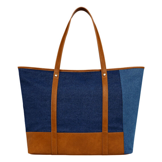 Carmen Denim Tote  DENIM  hi-res