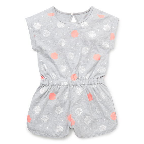 Shell Yardage Playsuit  CLOUD  hi-res