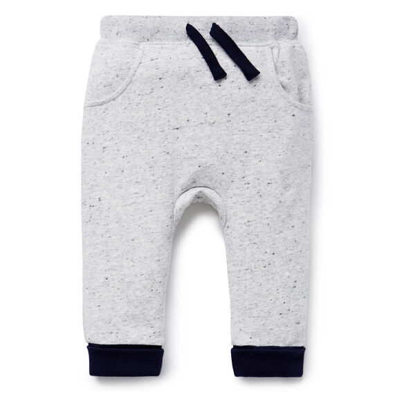 Bum Patch Harem Trackie  CLOUDY MARLE  hi-res