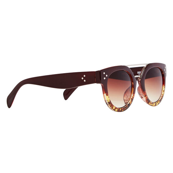 Ava Top Bar Sunglasses  WINE  hi-res