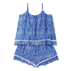 Paisley Playsuit  ROYAL BLUE  hi-res