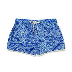 Paisley Short  ROYAL BLUE  hi-res