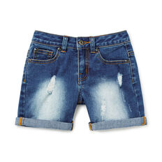 Stretch Denim Short  MID WASH  hi-res