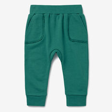 Easy Pocket Trackie  FOREST GREEN  hi-res