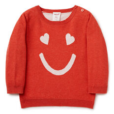 Smiley Face Sweater  APPLE MARLE  hi-res