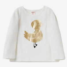 Duckie Tee  CANVAS  hi-res