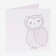 Owl Card  MULTI  hi-res
