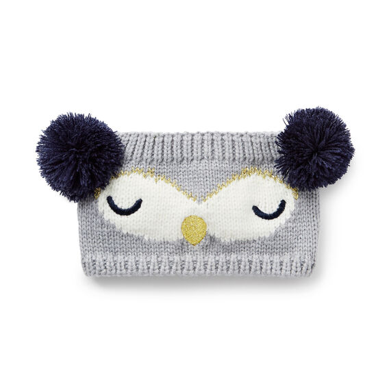 Pom Pom Owl Headband  MULTI  hi-res