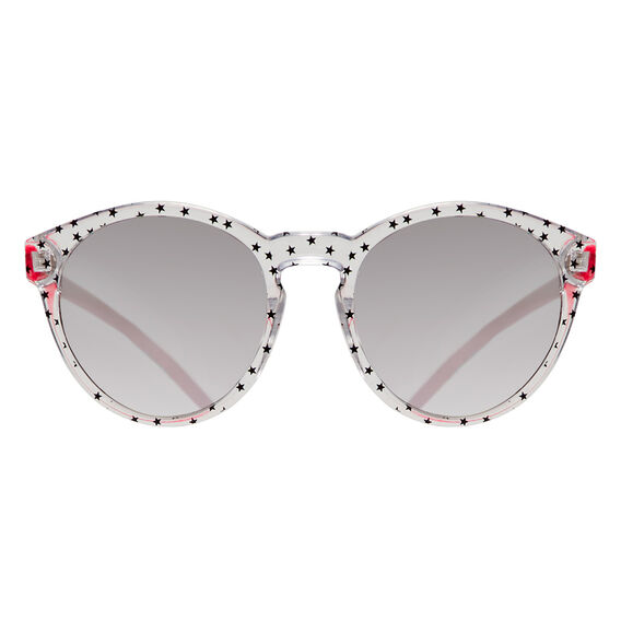 Star Print Sunglasses  CLEAR  hi-res