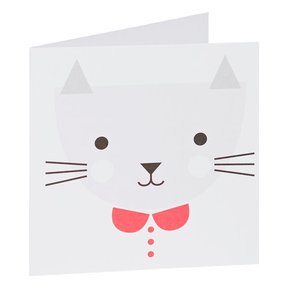 Pink Cat Card  MULTI  hi-res