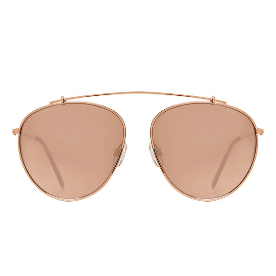 Rose Aviator Sunglasses  ROSE GOLD  hi-res