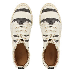 Roxy Lace Up Espadrille  BLACK/CREAM  hi-res
