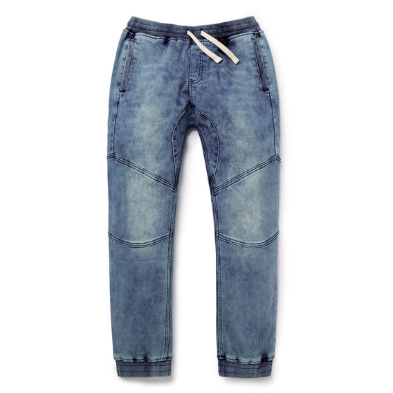 Denim Terry Pant  MID BLUE  hi-res