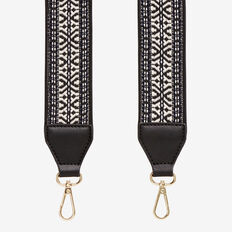 Tapestry Bag Strap  BLACK  hi-res