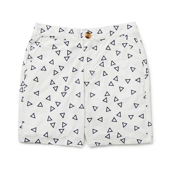 Embroidered Short  VINTAGE WHITE  hi-res